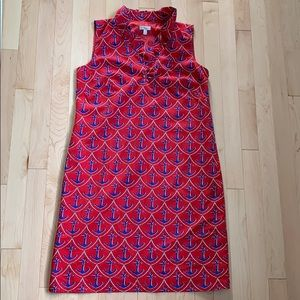 Talbots nautical sheath dress